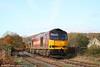 60035 at Ynysawdre on the Garw Loop with 6H25, 0849 Margam to Llanwern on 4th November 2007.
