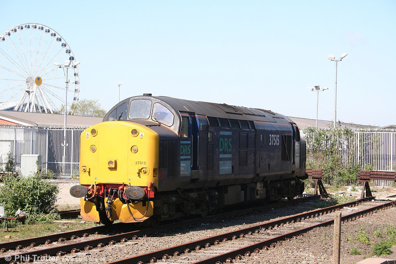 DRS 37515 rests at York on 1st May 2007.