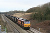 60083 'Mountsorrel' brings down the curtain on another year, heading 7C79, 1003 Parc Slip to Westbury loaded HAAs at Stormy Bank on 31st December 2007.