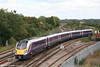 FGW 'Adelante' 180109 approaches Westbury forming the 1218 London Paddington to Exeter St. Davids on 6th August 2007.