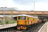 Network Rail's 73212 and 73213 pass through Bromley South with an engineering train on 22nd September 2007.