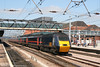 GNER 43095 'Perth' speeds through Doncaster at the head of the 1405 Leeds - London King's Cross on 2nd May 2007