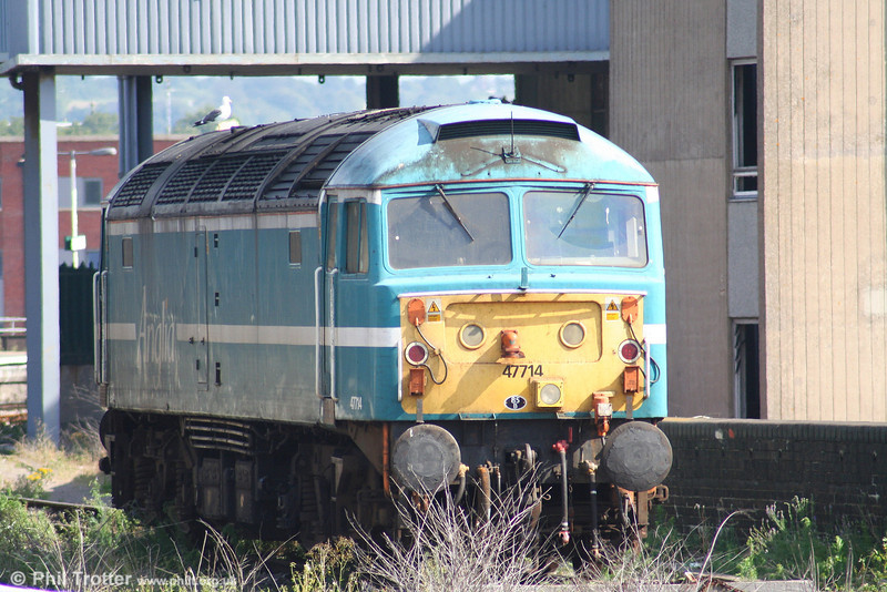 Cotswold 47714 parked in its customary position at Bristol Temple Meads on 11th August 2007.