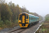 ATW 158818 approaches Gowerton with the 0950 Swansea to Pembroke Dock on 27th October 2007.