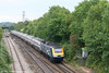 MML 43055 approaches Bristol Parkway with VXC's 1V49, 0941 Newcastle Central to Newquay on 1st September 2007.