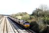 66152 at Llandevenny with 6B86, 1300 Portbury - Aberthaw Power Station on 17th March 2007.