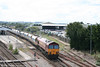 59204 'Vale of Glamorgan' passes through Westbury with a stone train for Acton Yard on 6th August 2007.