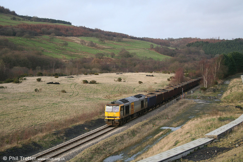 60073 'Cairn Gorm' at Blaenant (Cefn Coed) with the 6F81 Onllwyn - Margam empties on 20th January 2007.