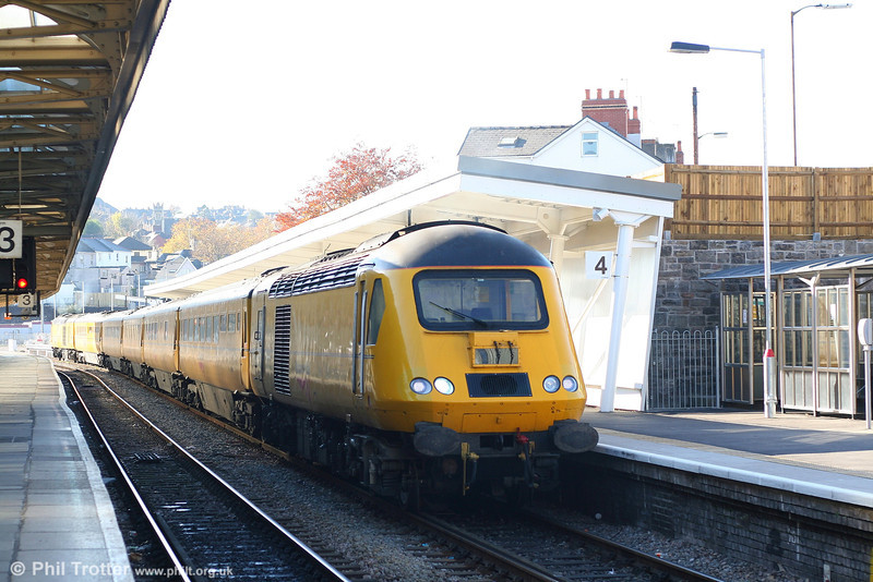 NR 43014 prepares to leave Newport with the Newport - Derby leg of NMT 1Z20 on 2nd November 2007.