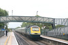 MML 43073 passes through Worle with VXC's 1V49, 0941 Newcastle Central to Newquay on 18th August 2007.