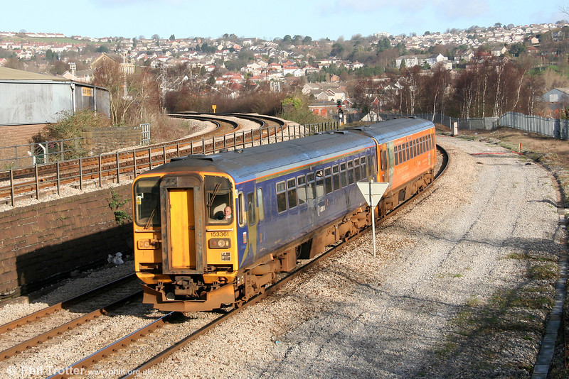 153361 and a sister at Landore on 1st March 2007.