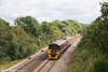 The first tints of autumn are beginning to show as FGW 158762 passes Ram Hill forming the 0951 Great Malvern to Taunton on 1st September 2007.