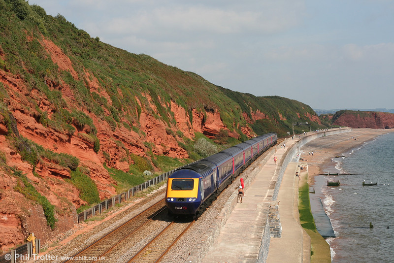Yet another sunny shot at a classic seaside location; this is 43188 with FGW's 1105 London Paddington to Penzance at Dawlish on 8th September 2007.