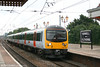 360201 calls at Hanwell with the 1703 Paddington - Heathrow Airport on 5th July 2007. Five class 360/2s are used on this half hourly service.
