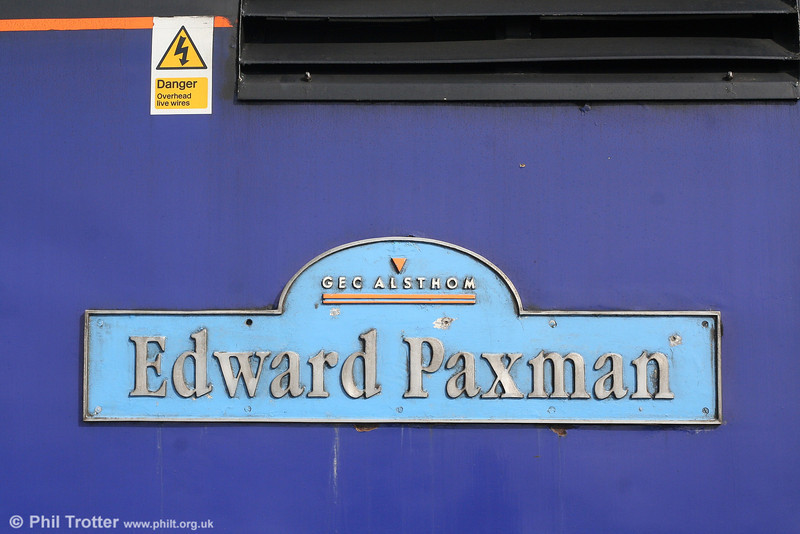 With the number of Paxman Ventura powered class 43s decreasing rapidly, one power car which is unlikely to retain its name following re-engineering will be 43170. The nameplate was recorded at Gloucester on 29th September 2007.