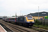 43137 leaves Gloucester with the diverted 1329 Swansea to London Paddington on 17th May 2008.