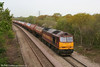 60062 climbs Stormy Bank with 6B13, 0510 Robeston to Westerleigh loaded tanks on 3rd May 2008.