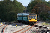 142082 bounces over the crossing at Abercynon, forming the 1051 Aberdare to Barry Island on 11th October 2008.
