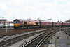 66142 at Bristol Temple Meads with 4C70, 0910 Aberthaw Power Station to Portbury coal hoppers on 16th April 2008.