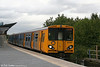 507007 at Sandhills working the 1543 Kirkby to Liverpool on 1st September 2008.