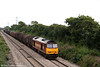 60062 descends Stormy Bank at the head of 6V07, 1321 Round Oak to Margam on 8th August 2008.