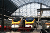 Class 373 'Eurostar' sets 3001 and 3009 at St. Pancras International on 20th September 2008.