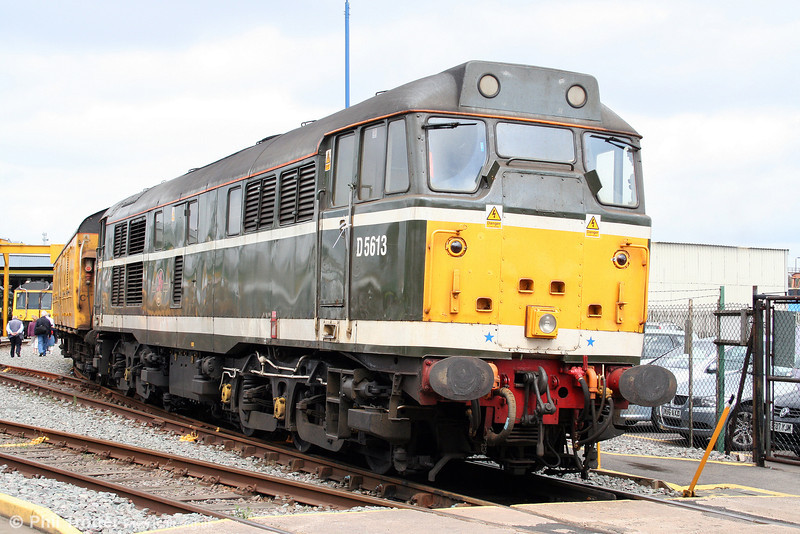 Taking a break from test train duties, 31190 is seen at the Tyseley 100 open day in 28th June 2008.