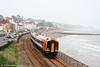 159103 on the sea wall at Dawlish, forming the 1120 London Waterloo to Paignton on 30th August 2008.