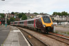 XC 220004 arrives at Newport forming the 0900 Cardiff Central to Newcastle on 12th July 2008.