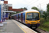 FCC 'Networker' 365502 waits at Stevenage with the 1322 London King's Cross to Peterborough on 11th September 2008.