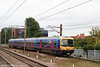 365537 slows to call at Stevenage forming the 1255 Cambridge to London King's Cross on 11th September 2008.