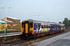 Northern's 156448 arrives at Chester forming the 1753 from Manchester Piccadilly on 1st September 2008.