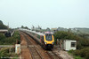 XC's 1257 Derby to Penzance rushes through Dawlish Warren on 30th August 2008.