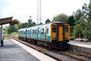 150250 again, this time at Llandovery with the 1316 Swansea to Shrewsbury on 2nd August 2008.