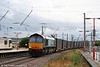 DRS 66415 at Warrington Bank Quay with 4S44, 1214 Daventry to Coatbridge on 2nd September 2008.