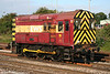 08495 'Noel Kirton OBE' pauses between shunting moves at Westbury on 23rd Agust 2008. The loco is named after the District Advisor of ASLEF, Thornaby.