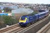 43186 passes Landore heading the 0935 Carmarthen to London Paddington on 22nd March 2008.