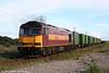 60005 'BP Gas Avonmouth' departs Margam Knuckle Yard with 6O79, 1840 Margam to Onllwyn FCAs on 14th August 2008.