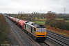 60054 'Charles Babbage' - still with its Petroleum Sector markings - passes Coedkernew with 6B13, 0510 Robeston to Westerleigh Murco tanks on 15th November 2008.