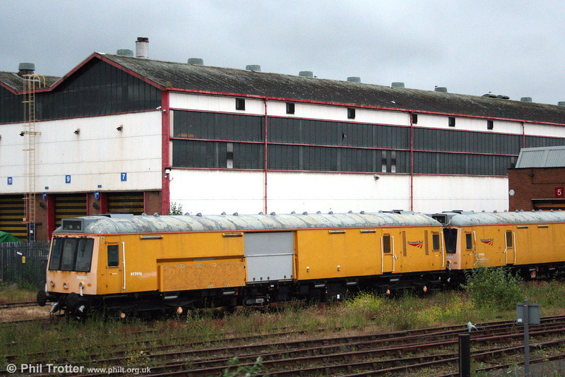 A closer look at class 121 no. 960303/55031 at Canton on 21st June 2008.