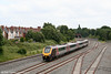 XC 220011 forming the 1045 Bournemouth to Manchester Piccadilly, passes Tyseley South Junction on 28th June 2008.