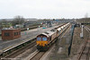 66193 at Severn Tunnel Junction with 6B80, 0622 Westbury Yard to Machen (via Gloucester) on 29th March 2008.