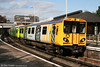 507033, one of four Merseyrail sets branded to celebrate the European Capital of Culture events at Birkenhead Central forming the 1626 Liverpool to Ellesmere Port on 1st September 2008.