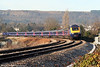 FGW's 1029 Swansea to London Paddington approaches Neath on 31st December 2008.