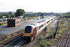 221136 heads through Severn Tunnel Junction with a diverted Cross Country service on 13th September 2008.