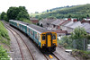 ATW's 150254 approaches Crosskeys forming the 1135 Cardiff Central to Ebbw Vale on 7th June 2008.
