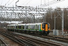 London Midland 350129 approaches Crewe forming the 1337 Liverpool Lime Street to Birmingham New Street on 1st March 2008.