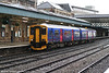 FGW's refurbished 150247 at Newport forming the 1211 Taunton to Cardiff Central on 5th January 2008.