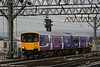 Reliveried 150133 approaches Manchester Piccadilly forming the 1610 service from Rose Hill Marple on 17th March 2008.