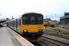 FGW's ex-Silverlink 150121 waits at Gloucester, ready to depart forming the 1642 service to Westbury on 17th May 2008.